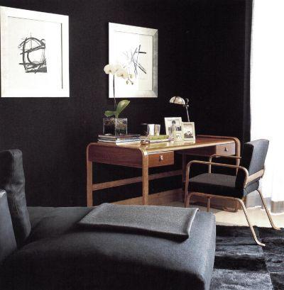 Атмосфера комнаты полностью нейтральна, но проникнута мужским духом.