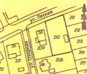 Общий план застройки определяет границы вашего участка и расстояния от вашего дома и других построек до соседних участков и улиц.