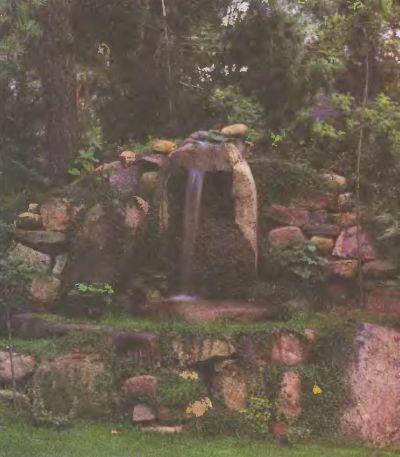 Водопад может быть и без озерца