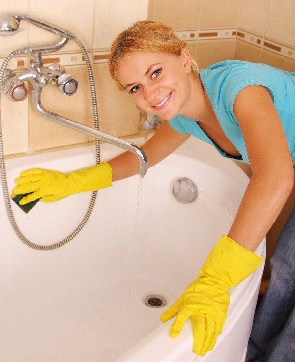 Чистка и уход за сантехническим оборудованием