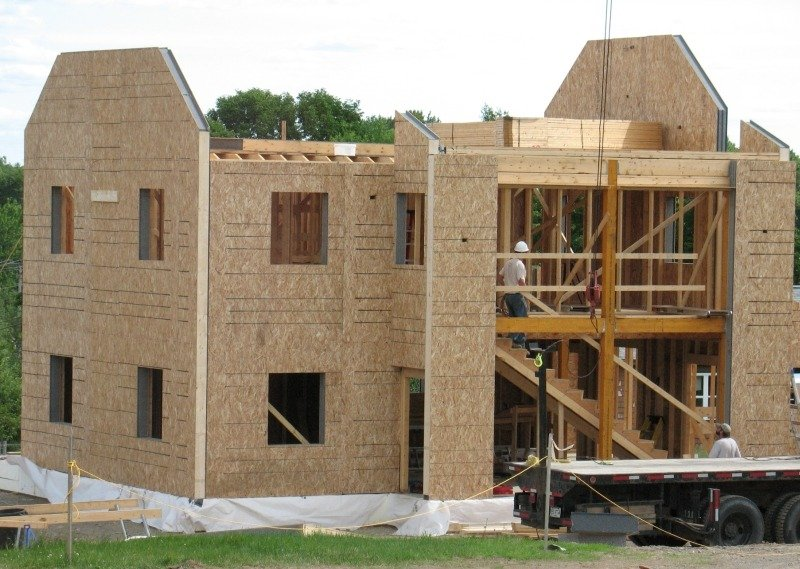 Строительство каркасного дома из SIP панелей