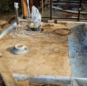 Строительство бассейна круглогодичного использования