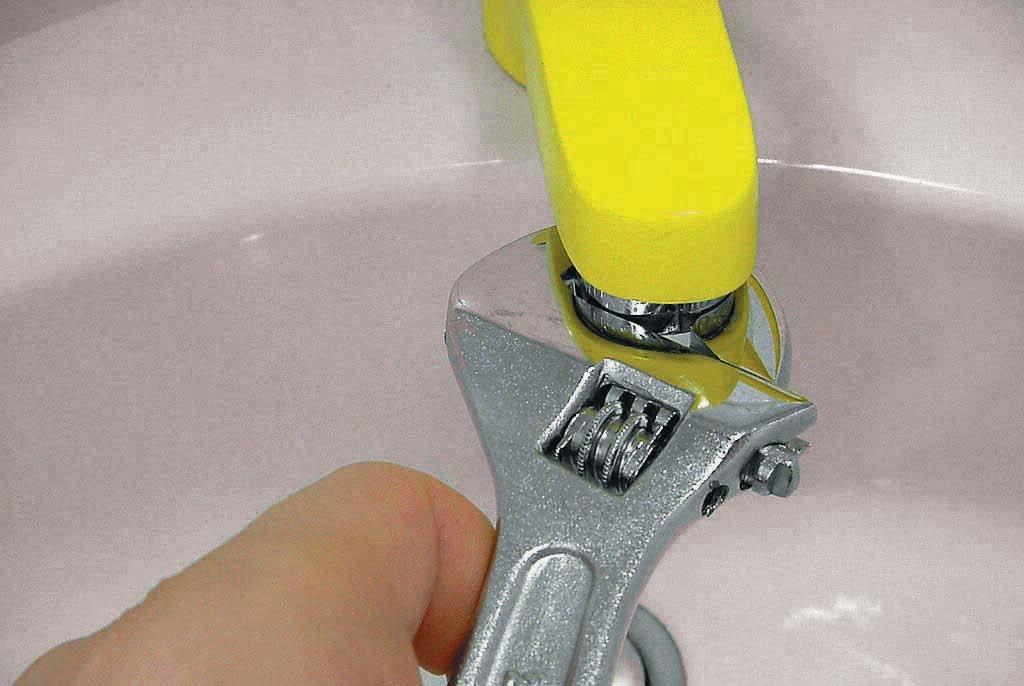 Чистка аэратора водопроводного крана