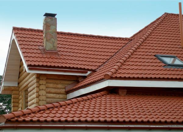 Крыша из полимерпесчаной черепицы