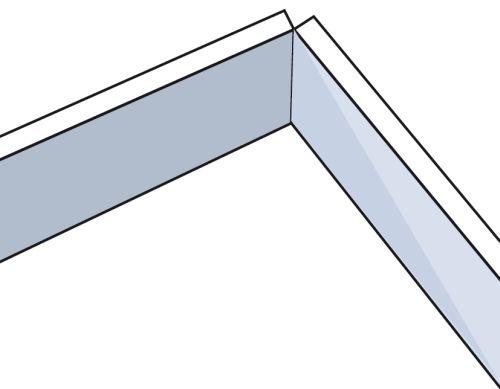 Шаг третий: теперь крышку можно сгибать под любым углом, однако не стоит делать так несколько раз — она может переломиться