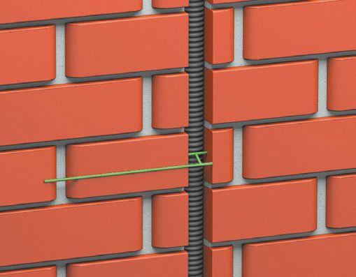 Скрытая укладка кабеля в гофрирован- ной трубе: глубина штробы должна быть такой, чтобы от гофры до края выемки было не менее 5 мм