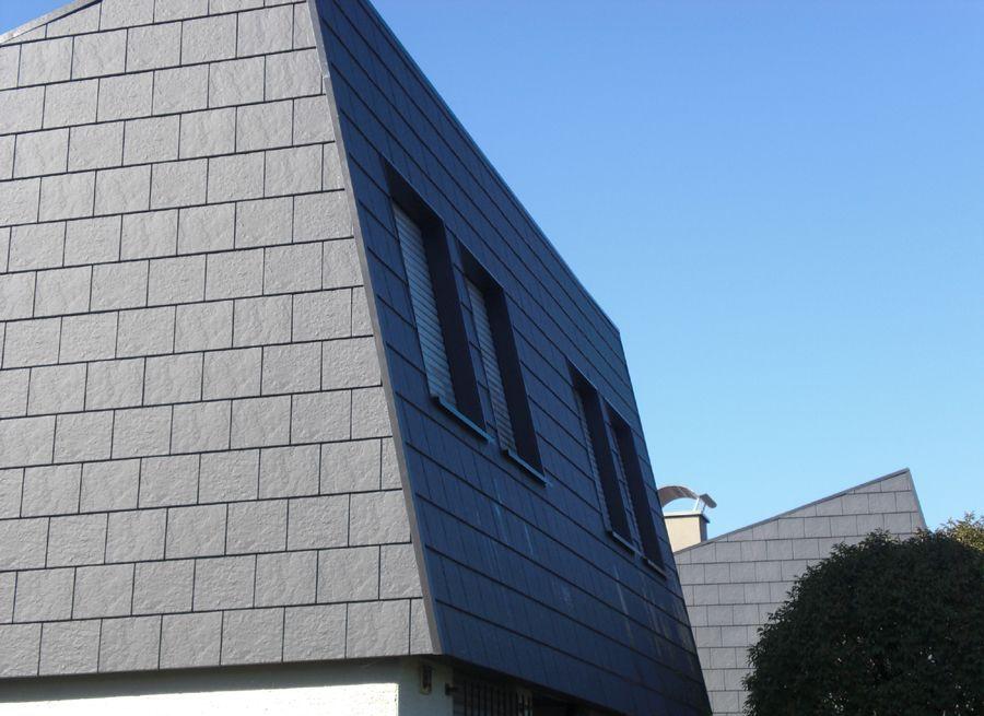 Крыша из кровельных панелей Zierer