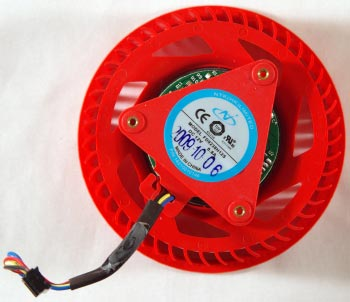 Штатный вентилятор Radeon 5970