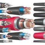 Виды кабелей, проводов и шнуров
