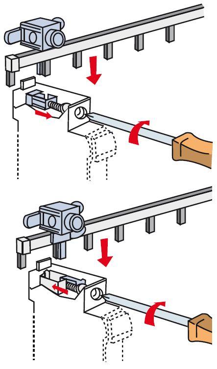 Полюса автоматов соединяются при помощи специальной гребенки, рассчитанной на однофазную сеть
