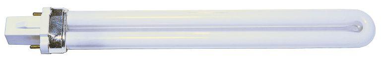Компактная люминесцентная лампа без ПРА обычно используется в светильниках, оборудованных электронным балластом