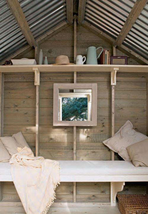 Застекленный домик - всегда уютнее и теплее