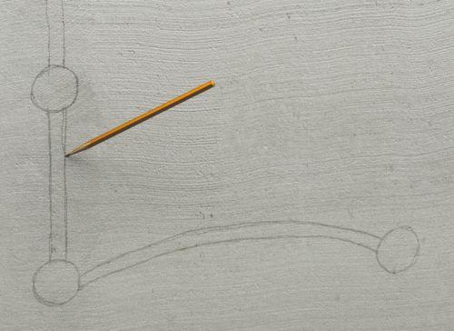 Шаг первый: перед тем как начать работу, необходимо вычертить прямо на стене месторасположение коробок и штроб