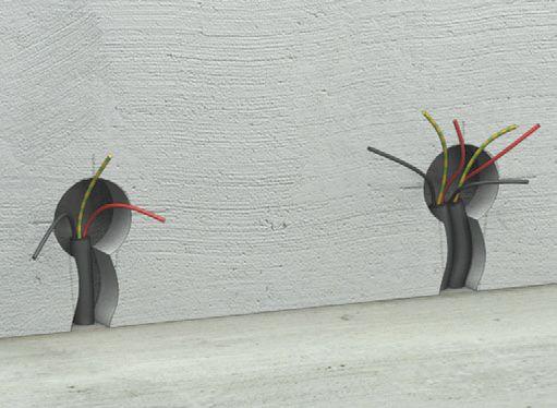 Шаг четвертый: заливается цементный раствор и стяжка выравнивается
