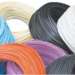 Разнообразные виды кабеля с цветной оболочкой