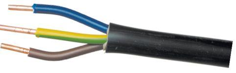 Многожильный кабель с однопроволочными жилами