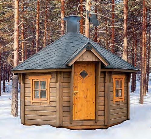Внешний вид финских утепленных гриль - чумов