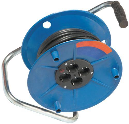 Переносной удлинитель с катушкой для кабеля