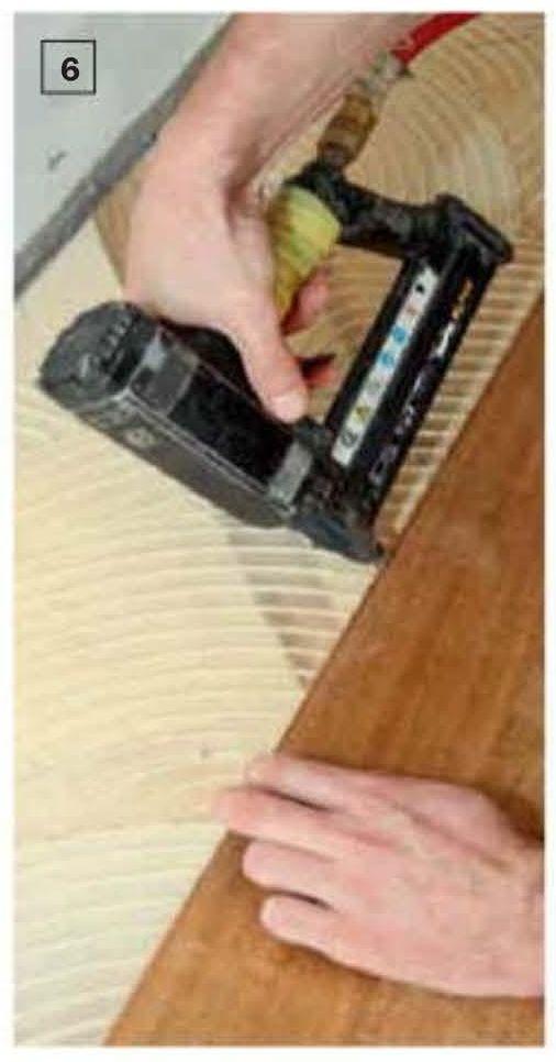 Технология укладки напольного покрытия из массива дерева