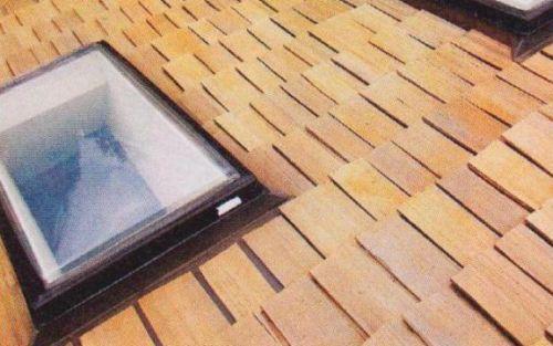 Крыша из гонта