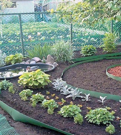 Бордюры для клумб и садовых дорожек 77
