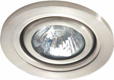 Встроенный потолочный точечный светильник с галогенной лампой и поворотной частью