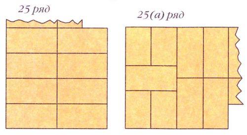 Порядовки (ряды 25-25а)