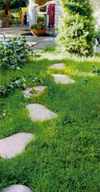 Пошаговые садовые дорожки