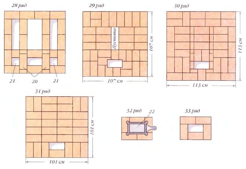 Порядовки (ряды 28-33)