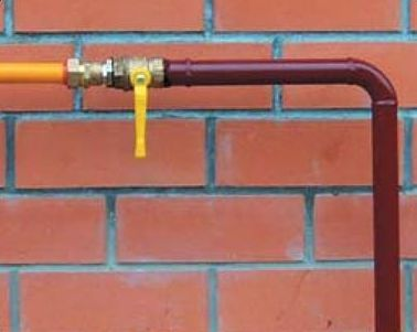 Газ на даче