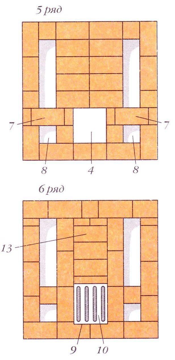 Порядовки (ряды 5-6)