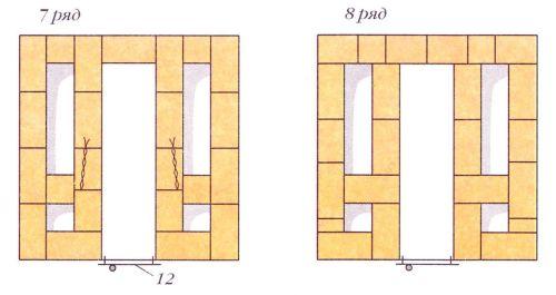 Порядовки (ряды 7-8)