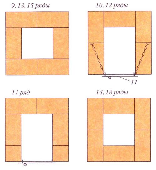 Порядовки (ряды 9-18)