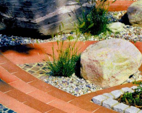 Садовые дорожки из комбинированных материалов