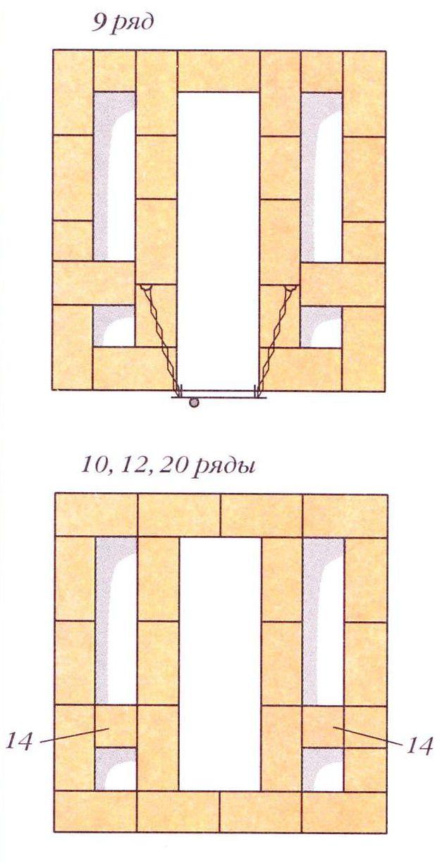 Порядовки (ряды 9, 10, 12, 20)