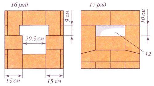 Порядовки (ряды 16-17)