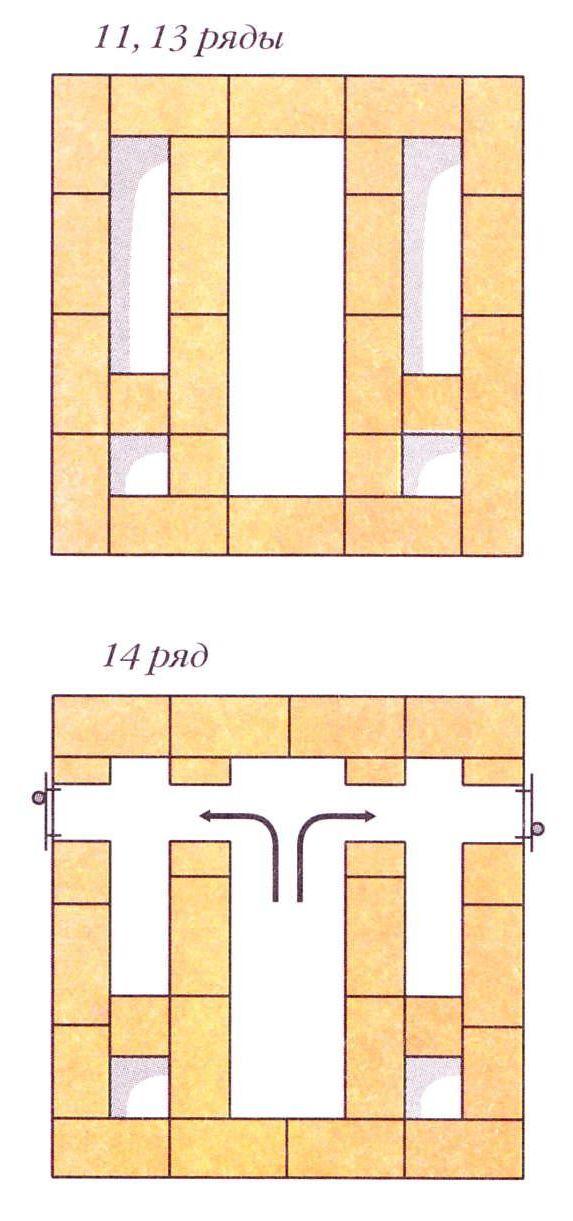 Порядовки (ряды 11, 13, 14)