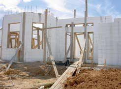 Строим дом из несъемной пенополистирольной опалубки