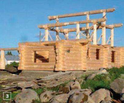 Строительство скатной крыши