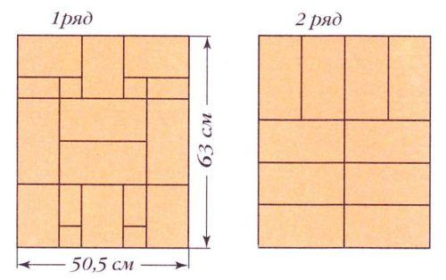 """Печь """"Малютка-1"""". Порядовки (ряды 1-2)"""