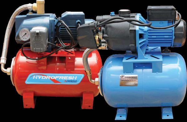 Станция водоснабжения - агрегат, включающий в себя насос, гидроаккумулятор и всю необходимую автоматику