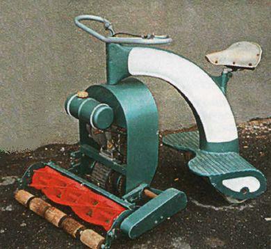 Прототип самоходной газонокосилки