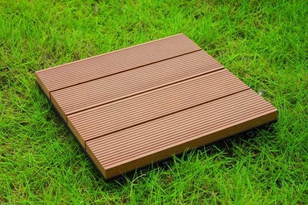 Древесно-полимерный композит (ДПК) - садовый паркет