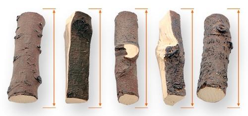 Керамические дрова для биокамина