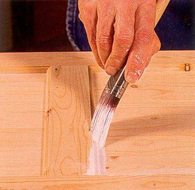 Угловой кисти доступны углы и профилированные поверхности