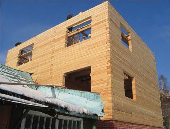 Дом быстро прирастает этажами