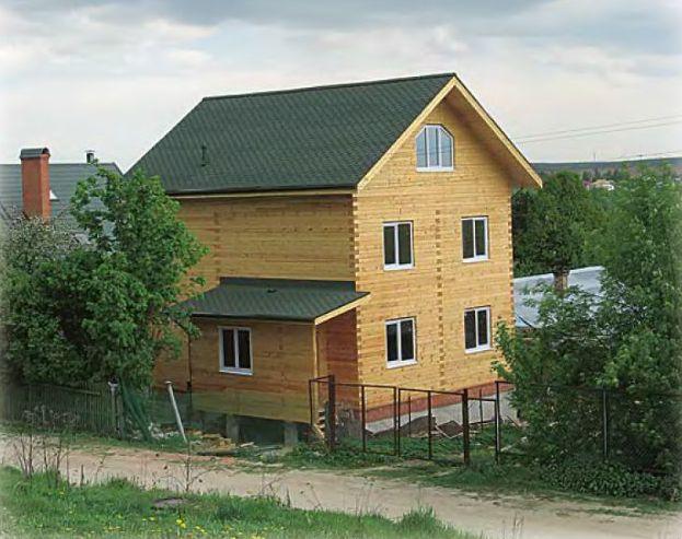 Как мы строили дом из бруса