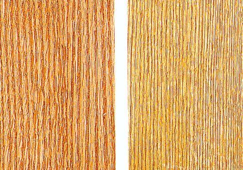 Два варианта применения пастообразного порозаполнителя