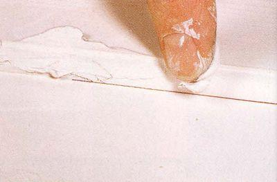 Убираем дефекты для получения гладкой поверхности