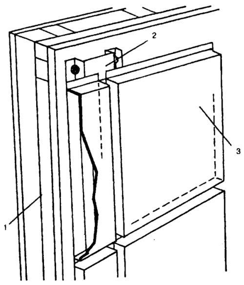 Отделка фасадными кассетами ТАЛДОМ 1000